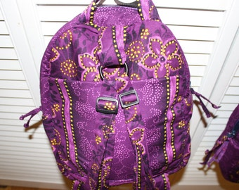 Hand Crafted by Maggie -Beauitful Twin  Backpacks - New Sale.16.00 each-Back to School Sale for Twins.