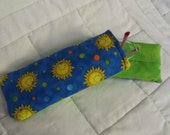Sunny Spots Glasses Case and Tissue Pocket OOAK