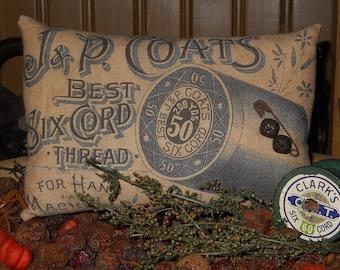 Thread Ad Pillow Tuck  Bowl filler
