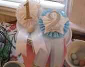 vintage inspired prize ribbon