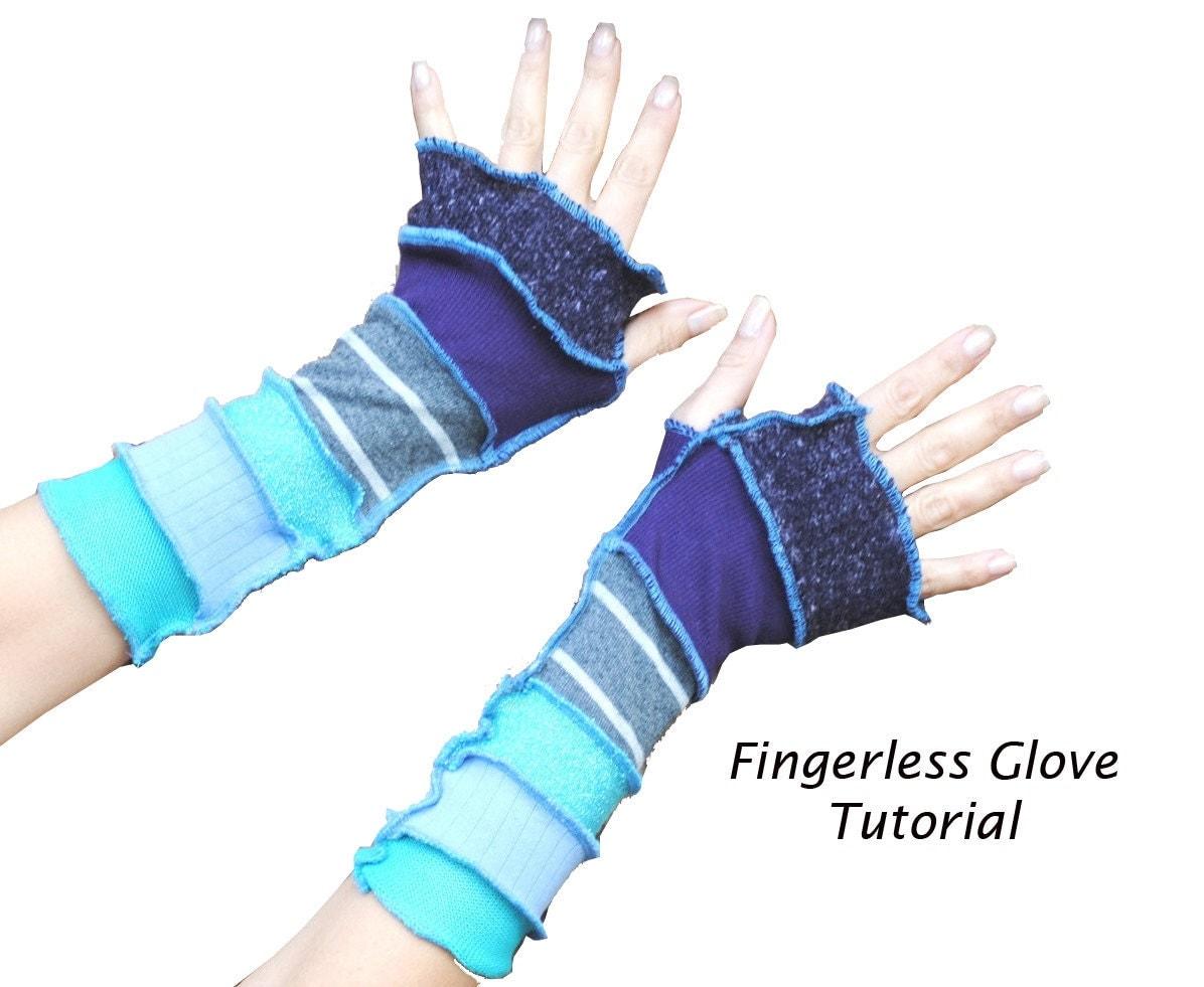 Fingerless gloves diy -