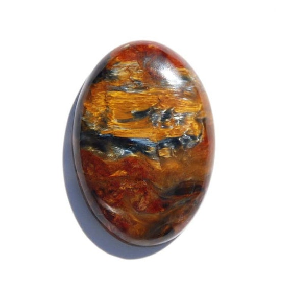 African Pietersite Oval Cabochon