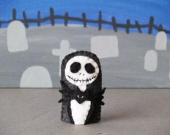 Jack Skellington Finger Puppet