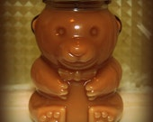 Honey Bear Soy Candle in Wild Mountain Honey Scent