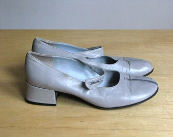Pale Gray Cynthia Rowley Loafers