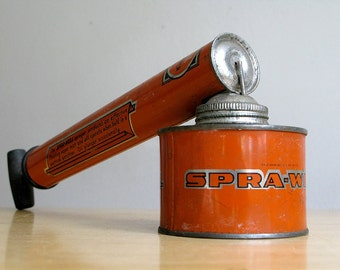 Antique Spra-well Garden Spray Can