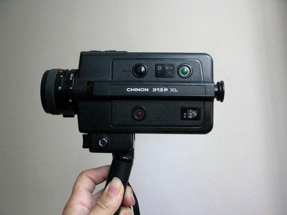 Vintage Chinon Super 8 Movie Camera