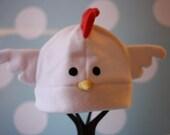 Leghorn Chicken Fleece Hat