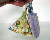 Itsy Itsy Bitsy Bags SET OF 2  / Keychain Coin purse  -  PDF Pattern