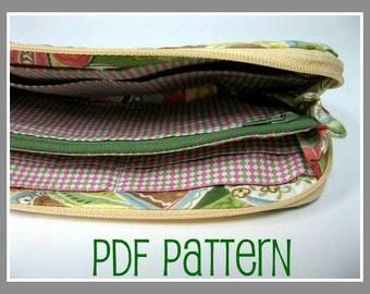 Swirl Clutch Wallet - PDF Pattern and Tutorial