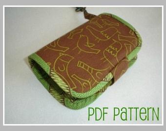 Green Apple Cinnamon Wallet PDF Pattern