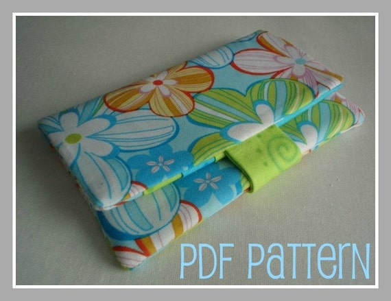 City Girl Wallet - PDF Pattern and Tutorial