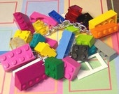 Lego Fun and Fabulous Colorful Rainbow Chunktastic Bracelet by MichellesCharmWorld