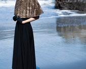 AMANDA - Faux Fur Caplet