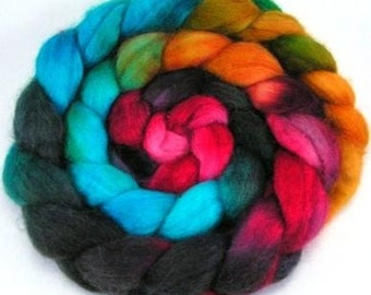 Spinning Fiber - Baby Alpaca Combed Top  / Roving 4 oz- Arizona