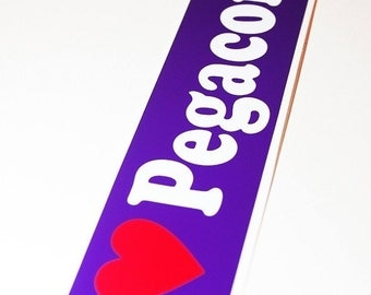 I Heart Pegacorns Sticker
