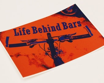 Bicycle Sticker - Life Behind Bars