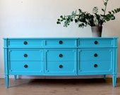 Turquoise dresser/sideboard