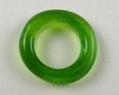 Lime Green Glass Rings - 1 ring