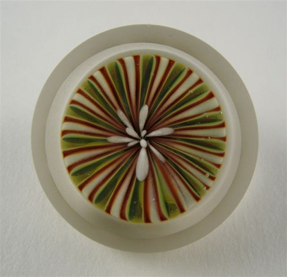 Paperweight Glass Button by Greg Hanson