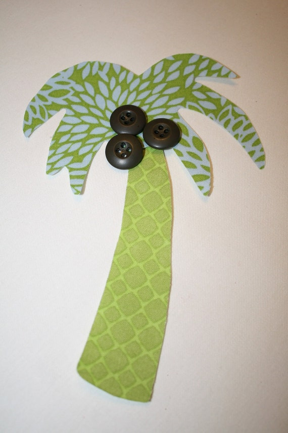 Items Similar To Palm Tree Applique Template Pattern