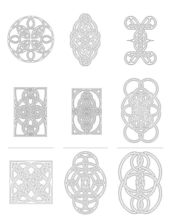Celtic Knot Coloring Book 1 PDF