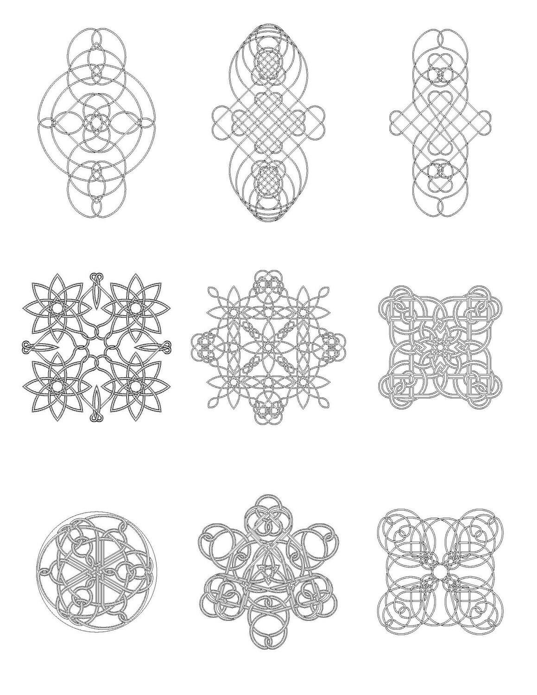 Celtic Knot Coloring Book 8 PDF