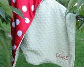 Minkee Silky Baby Blanket
