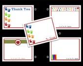 Custom Teacher's Stationary/ Thank You Note Gift Sets