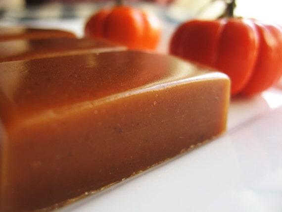 Pumpkin Pie Butter Caramels -8 oz. - Thanksgiving Harvest Season Only