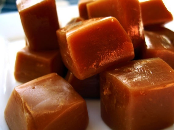 Maple Syrup Salted Butter Caramels 16 oz.