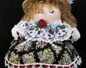Pin Cushion Collectable Decor Flower Doll - Spring Bouquets