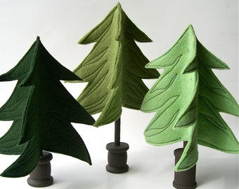 Evergreen Trees...