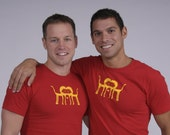 Limited Edition. 1 left. Gay design graphic tee Mens