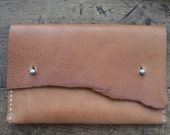 LEATHER CARRIER WALLET