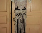 Tribal Pink and Black Dancer outfit