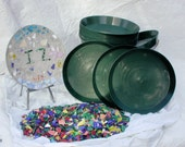 Mosaic stepping stone kit for 15 artists