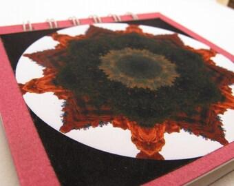 Notepad with Southwestern hoodoo photographic mandala
