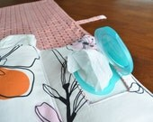Changing Pad with Wipes Compartment