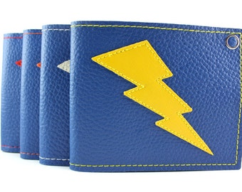 TCB Blue and Yellow Lightning Bolt Wallet - Other colors to choose from so get up on it