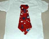 Patriotic Tie Shirt/Onesie