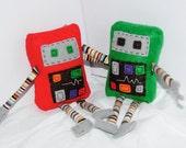 Custom Order for lisalexo3--Mini Robot Plush