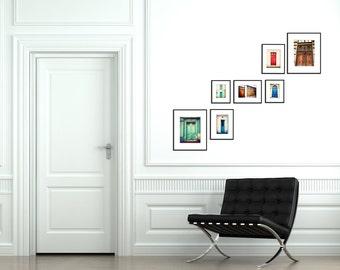 Paris Decor- Door Art- Paris Photography- Paris Wall Art-   French Decor, Home Decor, Rustic Art, under 125, unisex- Parisian Door Series