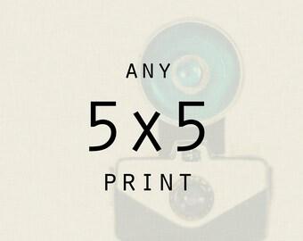 Wall Art - Photography - Any 5x5 print