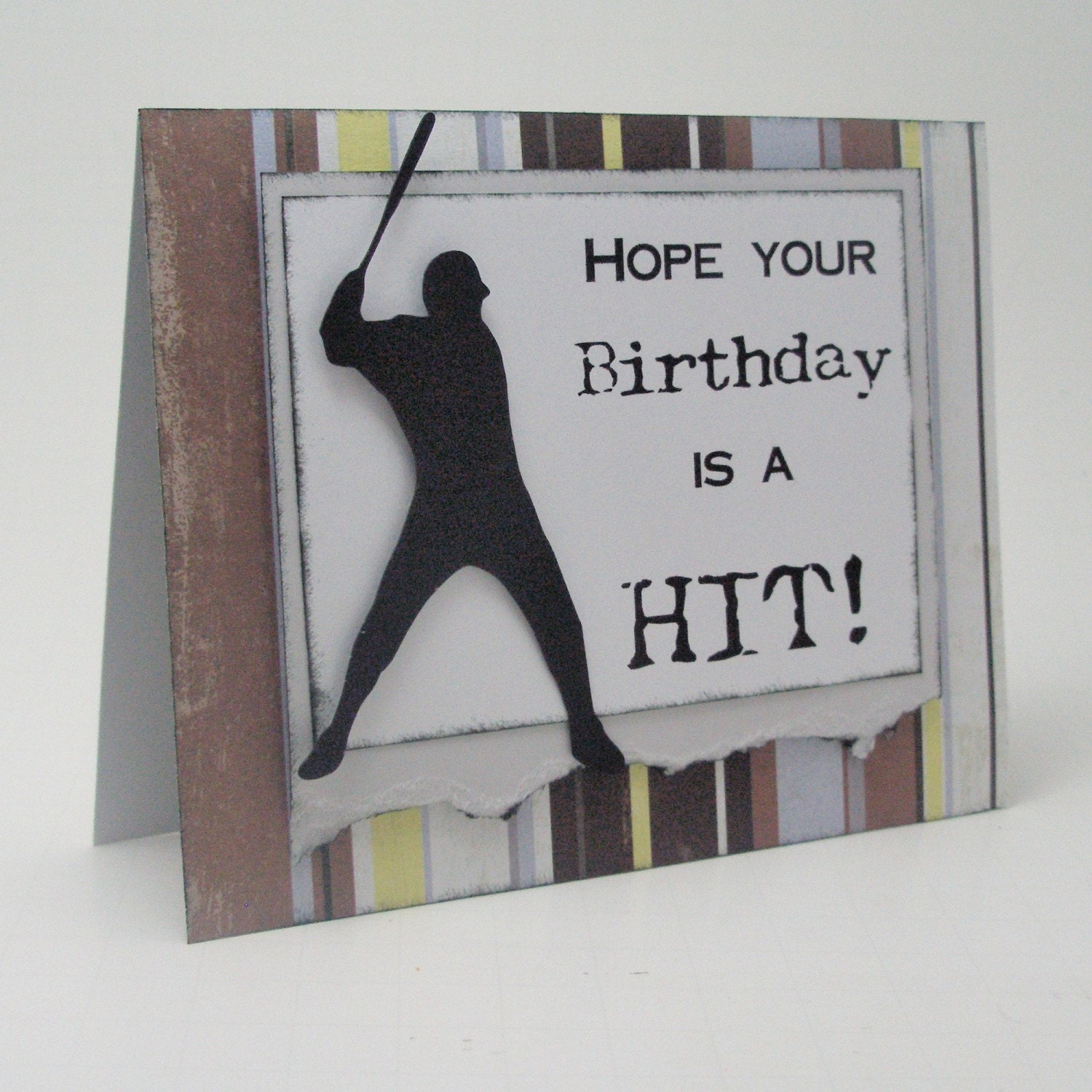 Baseball Theme Birthday Card By Just Scraps N Things