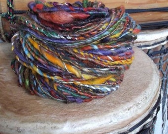 Reserved Listing - The Beat of My Drum- Novelty Art Yarn