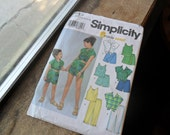 Sewing pattern, Simplicity pattern, 5615, 6 made easy patterns, size K5 (1)
