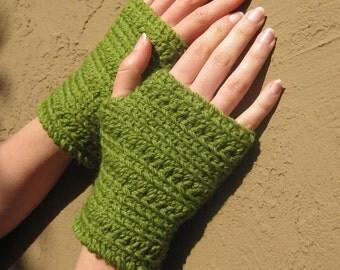 25% OFF SALE!!!   Annie Crochet Fingerless Gloves or Mittens