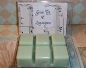 RESERVED FOR LHP    Green Tea and Lemongrass Soywax Melting Tart