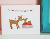 Dear To Me Notecards - Set of 8 - Blank
